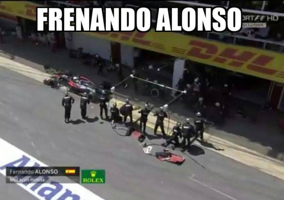 Fernando Alonso Gran Premio di Spagna