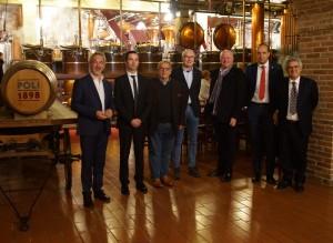 Jacopo Poli, Mattia Pedon, Fausto Maculan, Andrea Rigoni, Dario Loison, Piercristiano Brazzale e Stefano Soprana