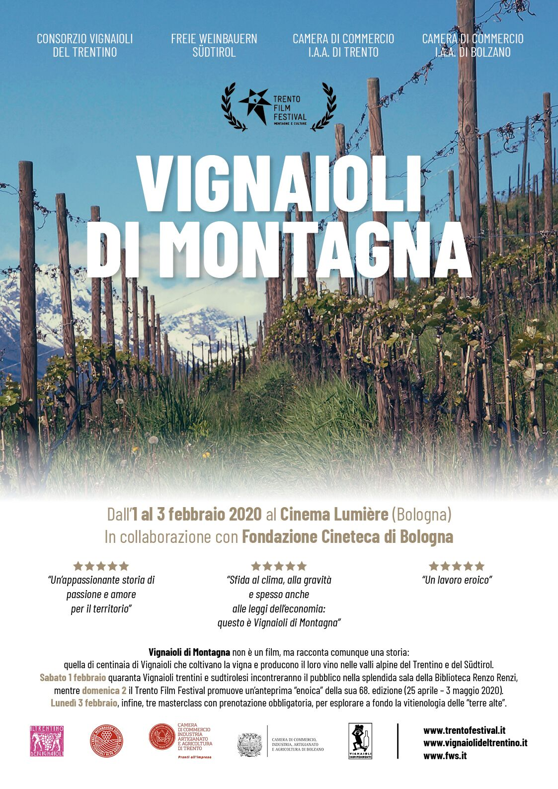 Trentino Alto Adige Artigianato vignaioli di montagna di trentino e alto adige in vetrina a