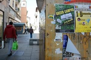 Giorgio Garbi - impalcatura del cantiere di via bossolaro