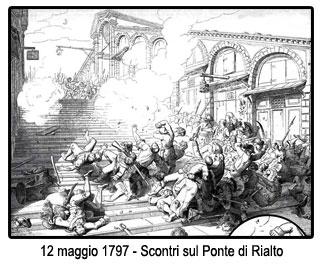 12 maggio 1797 - Ponte di Rialto