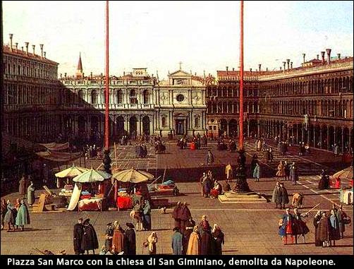 Piazza San Marco con la chiesa di San Giminiano