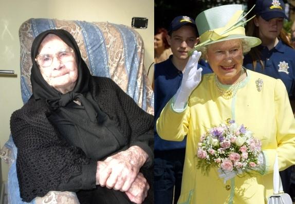 consola e la regina