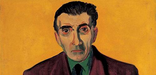 Salvatore Cambosu in un ritratto di Foiso Fois