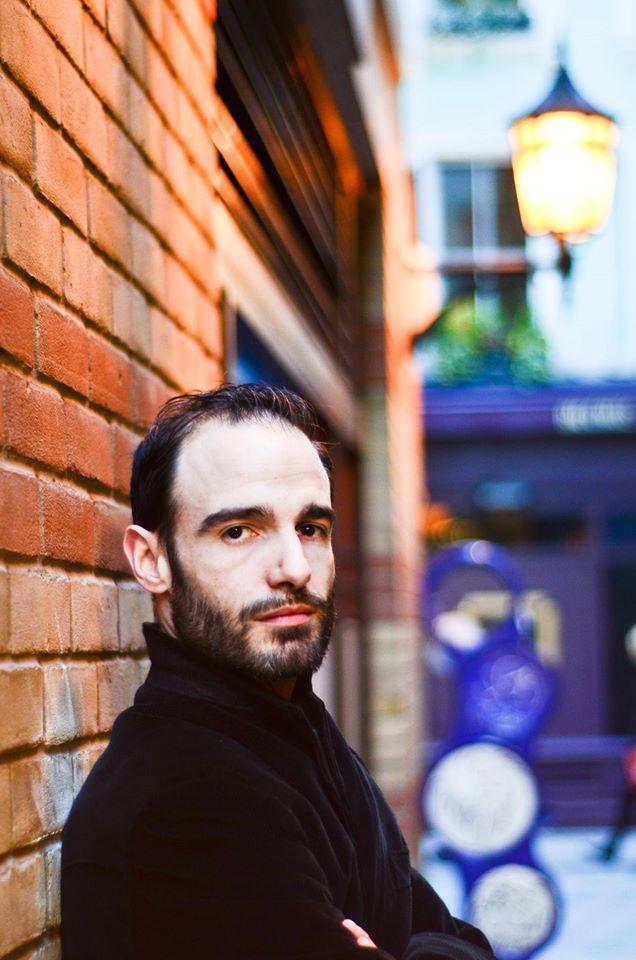 Maurizio Carta in una foto di Alessandro C