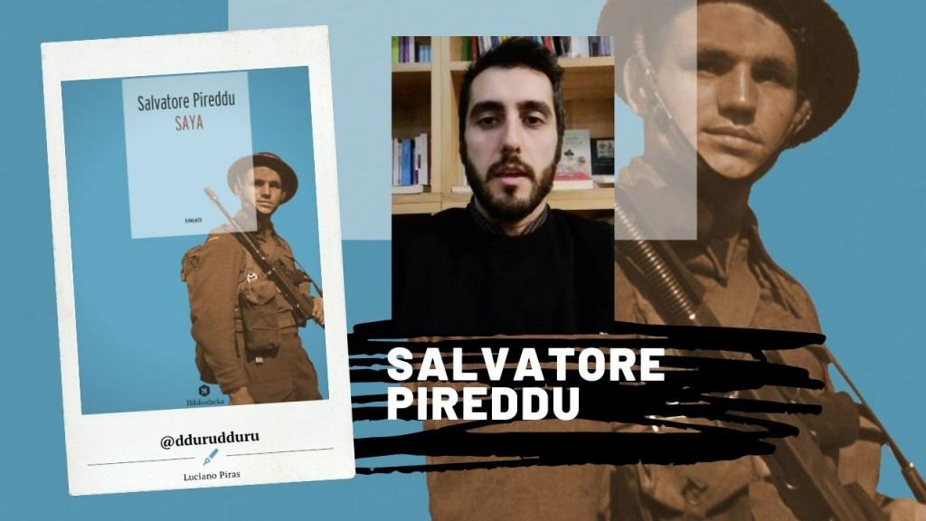 Salvatore Pireddu Saya Bibliotheka, Roma 2018