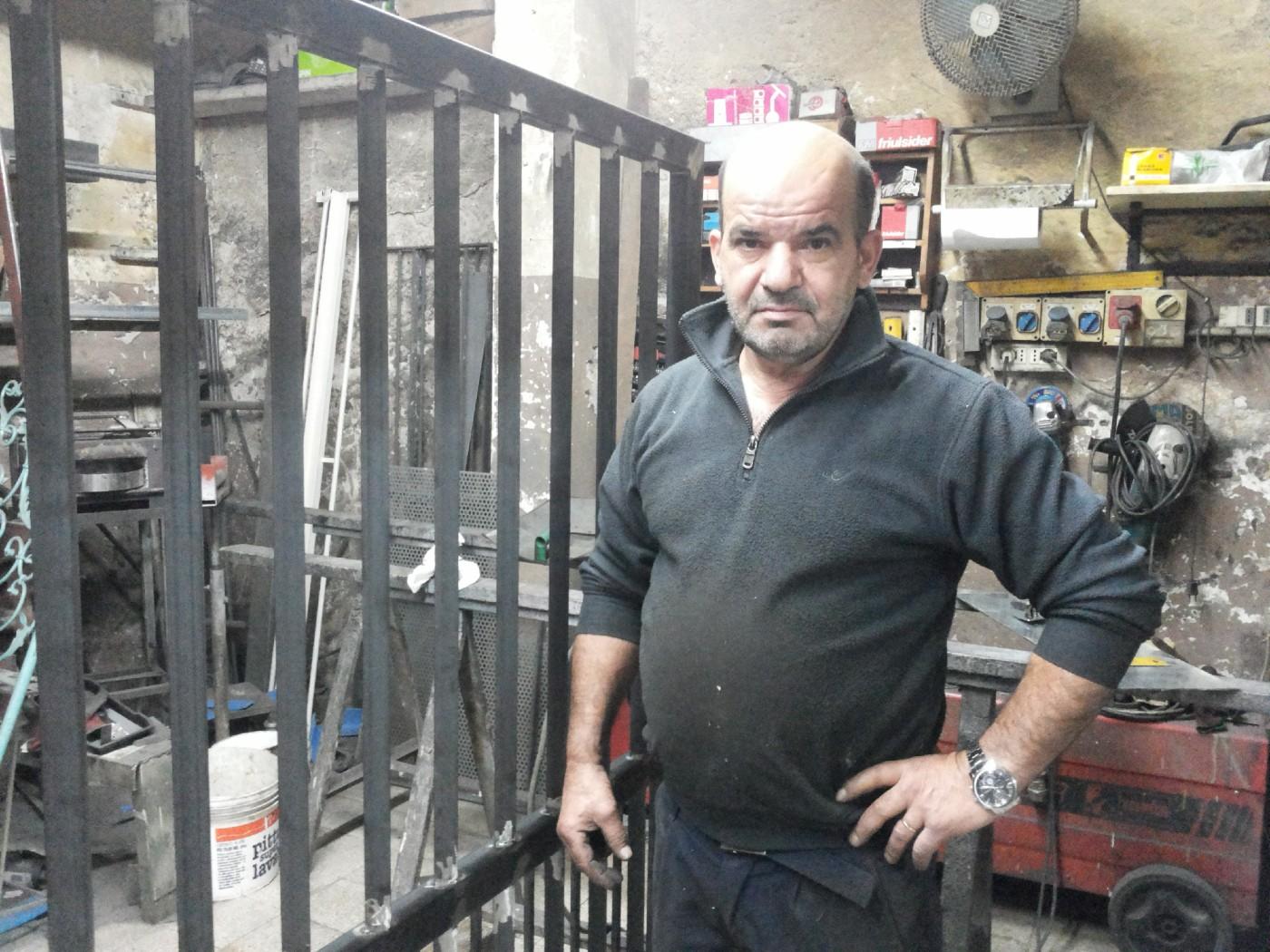 Antonio Salis, su maistru de ferru