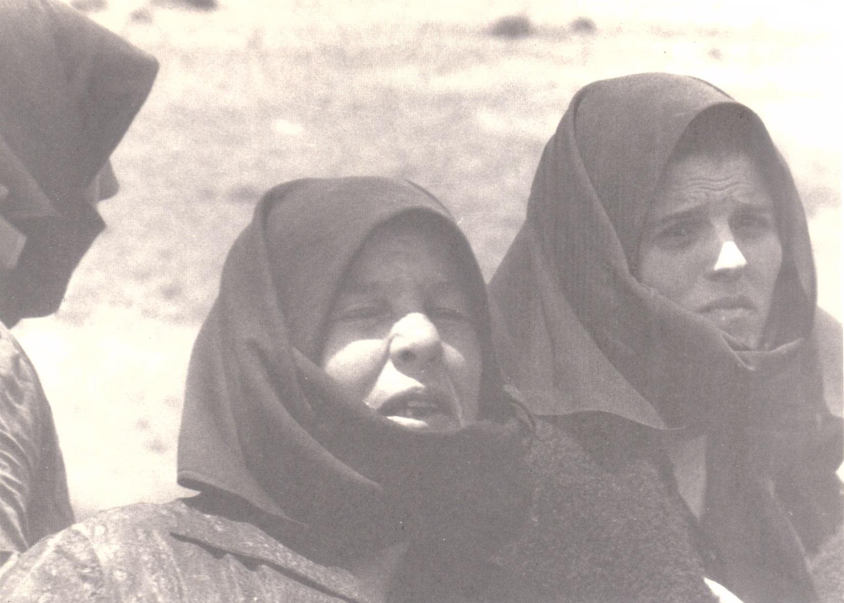 """Una fotografia tratta dal libro """"Orgosolo. Lotta di Pratobello 1969"""" di Dionigi Deledda"""