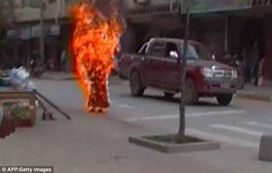 Tibetan Nun self immolation Piccola