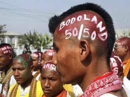 Attivisti di etnia Bodo
