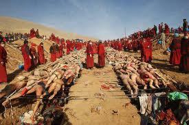 La foto del terremoto scattata in Cina falsamente legata agli scontri nell'Arakan