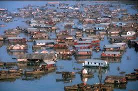 Veduta del Tonle Sap