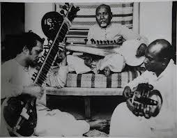 Ravi Shankar (sin) e Baba khan