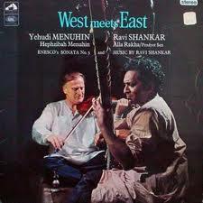 Manifesto di un concerto di Shankar e Yehudi Menuhi
