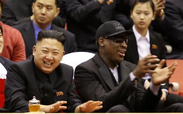 """Momenti sereni per Jong Un col suo """"amico per la vita"""" Rodman"""