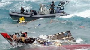 Salvataggio in extremis di una barca di profughi sulle coste australiane