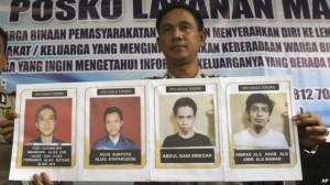 I terroristi ricercati per la fuga da Medan