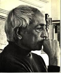 Il filosofo Krishnamurti