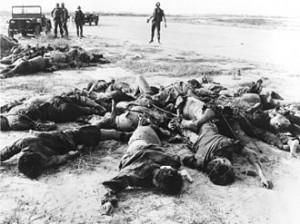 Uno dei tanti massacri di viet cong da parte dell'areonautica Usa durante l'Offensiva del Tet che coinvolse anche la Cambogia.