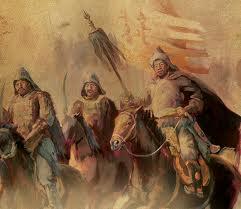 Dipinto di Gengis Khan
