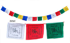 Bandiere Lungta tibetane