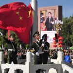 Altro momento della parata celebrativa a Lhasa