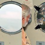 """La celebre foto """"ritoccata"""" durante un'ispezione di Modi ai luoghi dell'alluvione"""