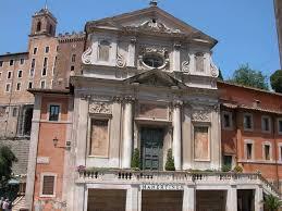 La chiesa dei Falegnami ai Fori, prima del crollo