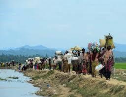 L'esodo dei Rohingya nel 2017