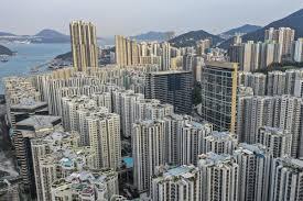 Lo sviluppo edilizio di Hong Kong