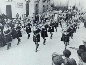 Il concerto di cornamusa ad Agira del 1943