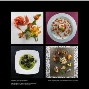 I piatti di Mario Ferrara fotografati da Roberto Savio