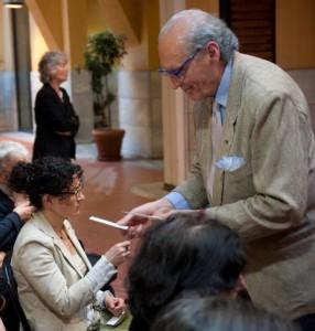 Padovan con la Signora Lia - Foto Luca Gambi per Smell