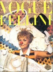 Copertina Vogue Fellini