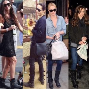 Alcune celebrities indossano Fiorentini+Baker