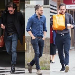 Kit Harington (Jon Snow) con Fiorentini+Baker