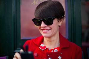 Francesca Dallamotta Voilà le Vélo
