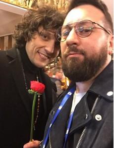 Fabio Mercurio e Ermal Meta (foto da Instagram)