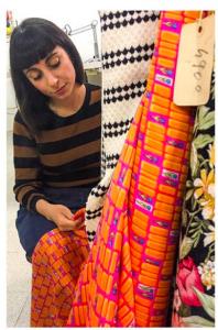 Sara Forlini in una foto tratta dalla sua pagina di Instagram
