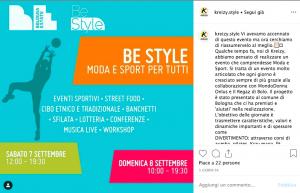 Post Instagram Kreizy su Be Style