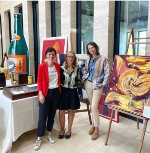 Da sinistra Francesca Tonelli, Caterina Pascale e Gaia Rossi