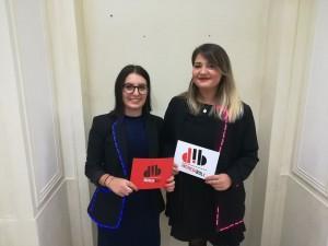 Alessandra Perlino e Serena Taglioli, fondatrici di Dress Coders - foto tratta dalla pagina di Incredibol