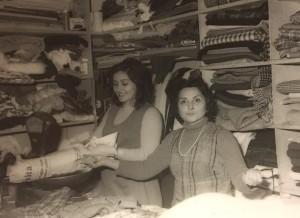 La signora Ada in una vecchia foto