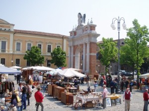 La casa del tempo, mercato antiquario di Santarcangelo di Romagna