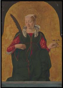 Polittico Griffoni - Santa Lucia di Francesco del Cossa