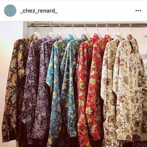 Camicie sartoriali in vendita da Chez Renard