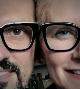 I volti di Erica Zanetti e Paolo Borghi