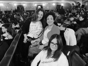 Parte del team di Sartorie Leggere dall'alto verso il basso: Barbara Montanari, Elena Rasia e Sara Yacoubi