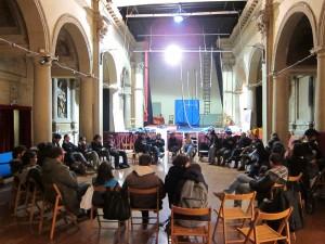 La sala del teatro San Leonardo