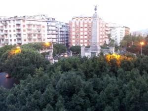 piazza vittorio veneto. statua1